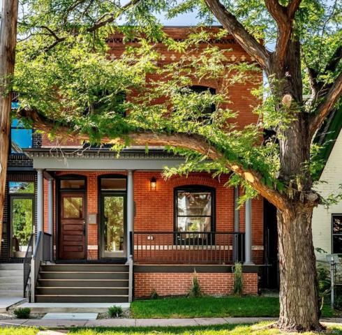 2844 Champa Street, Denver, CO 80205 (#8878410) :: The Heyl Group at Keller Williams