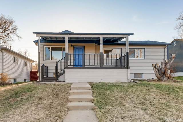 29 S Utica Street, Denver, CO 80219 (MLS #8878868) :: The Sam Biller Home Team