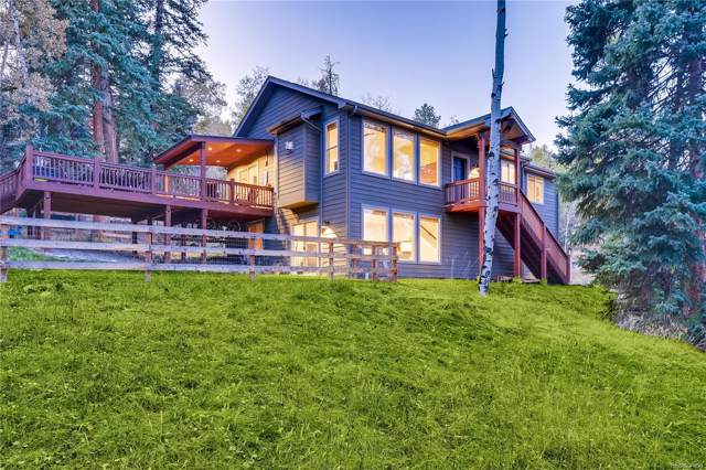 34808 Forest Estates Road, Evergreen, CO 80439 (#8880333) :: Wisdom Real Estate