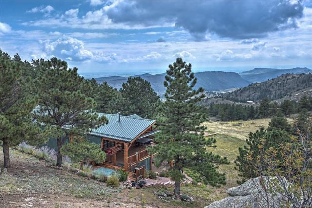 2519 Blue Mountain Trail, Lyons, CO 80540 (#8881540) :: The DeGrood Team