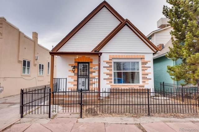421 Fox Street, Denver, CO 80204 (#8882394) :: The Healey Group