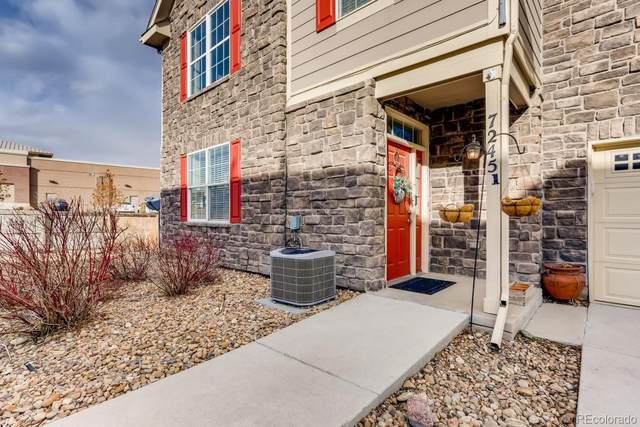7245 S Millbrook Court A, Aurora, CO 80016 (MLS #8883047) :: Kittle Real Estate