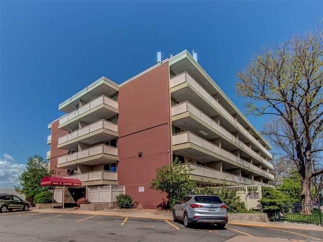 4600 E Asbury Circle #103, Denver, CO 80222 (MLS #8887476) :: Colorado Real Estate : The Space Agency