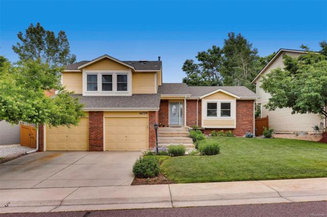 16739 E Prentice Circle, Centennial, CO 80015 (#8889044) :: The Dixon Group