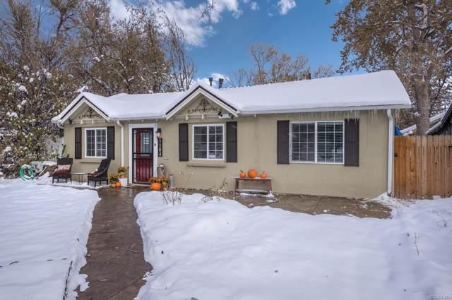1164 Verbena Street, Denver, CO 80220 (#8889139) :: The HomeSmiths Team - Keller Williams