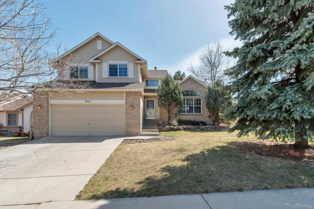 915 W Chestnut Circle, Louisville, CO 80027 (#8894682) :: The Healey Group