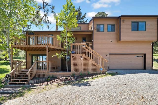 7203 Silverhorn Drive, Evergreen, CO 80439 (MLS #8896588) :: Clare Day with LIV Sotheby's International Realty