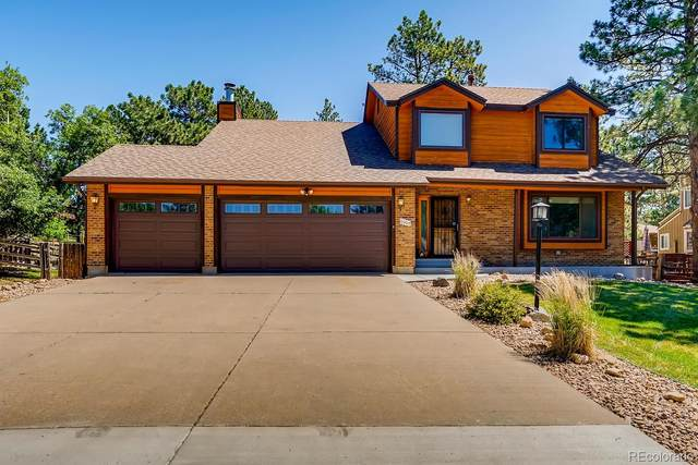 6082 Ponderosa Way, Parker, CO 80134 (#8898495) :: Peak Properties Group