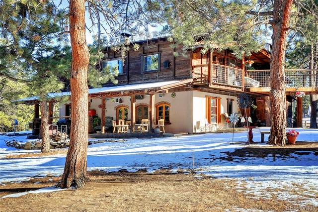 5709 S Skyline Drive, Evergreen, CO 80439 (#8899011) :: The DeGrood Team