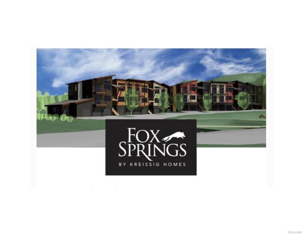 1421 Hilltop Parkway #434, Steamboat Springs, CO 80487 (#8901523) :: The Dixon Group