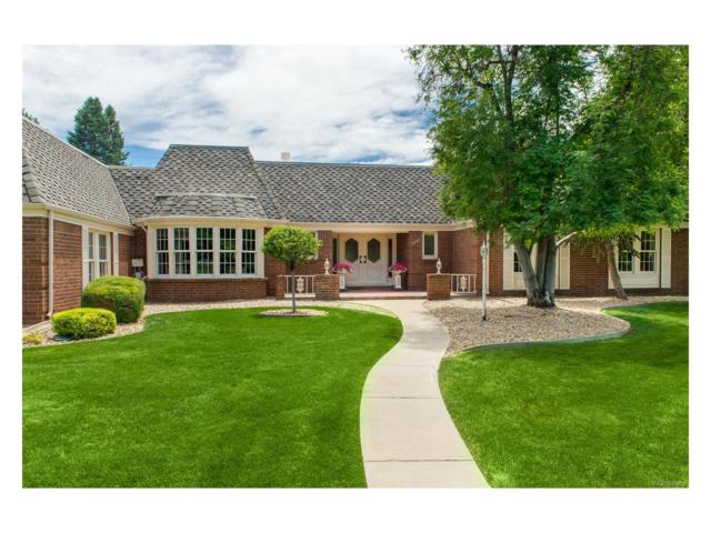 4950 Nassau Circle, Cherry Hills Village, CO 80113 (#8910109) :: The City and Mountains Group