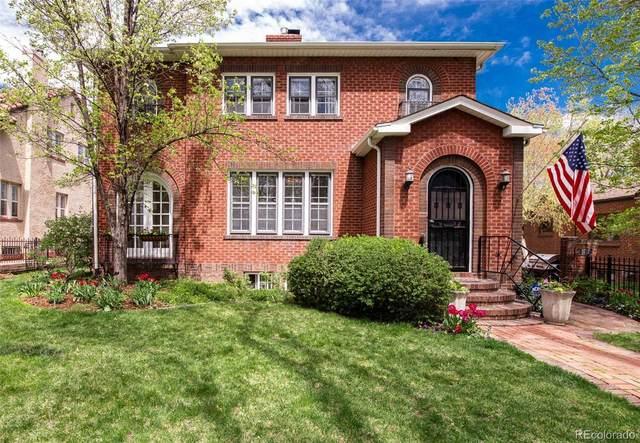 3717 E 7th Avenue Parkway, Denver, CO 80206 (#8922596) :: Mile High Luxury Real Estate