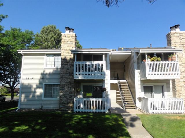 14191 E Jewell Avenue #102, Aurora, CO 80012 (MLS #8922655) :: 8z Real Estate