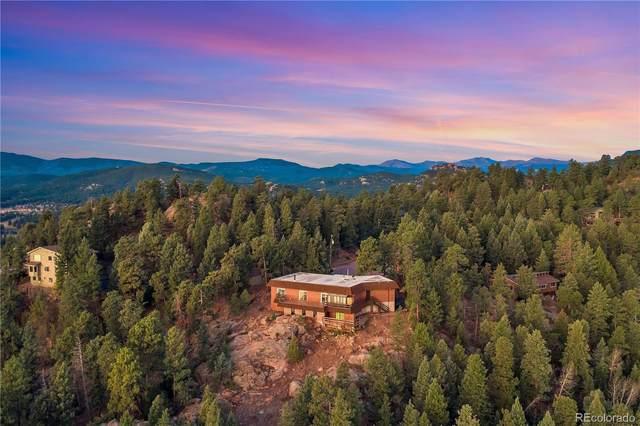3991 Mossy Rock Lane, Evergreen, CO 80439 (#8923378) :: Symbio Denver