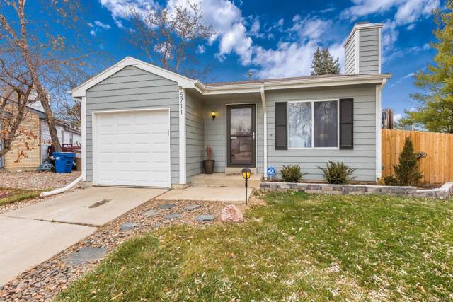 5711 W 76th Avenue, Arvada, CO 80003 (#8926912) :: The Peak Properties Group