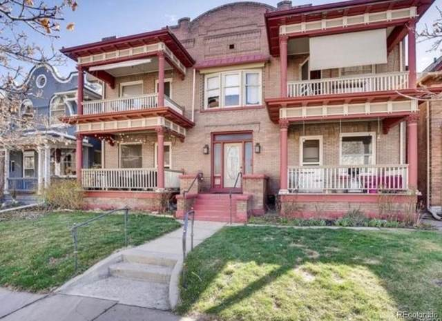 950 N Ogden Street #5, Denver, CO 80218 (#8927695) :: The HomeSmiths Team - Keller Williams