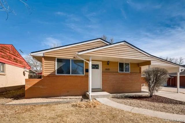 2620 Newport Street, Denver, CO 80207 (#8932195) :: The Pete Cook Home Group