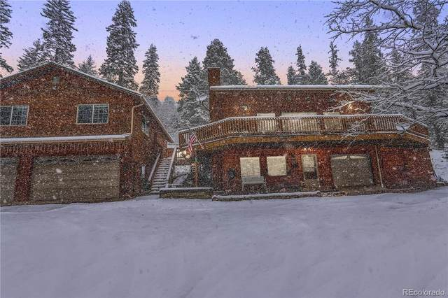 11182 S Barney Gulch Road, Conifer, CO 80433 (#8937108) :: The Colorado Foothills Team | Berkshire Hathaway Elevated Living Real Estate