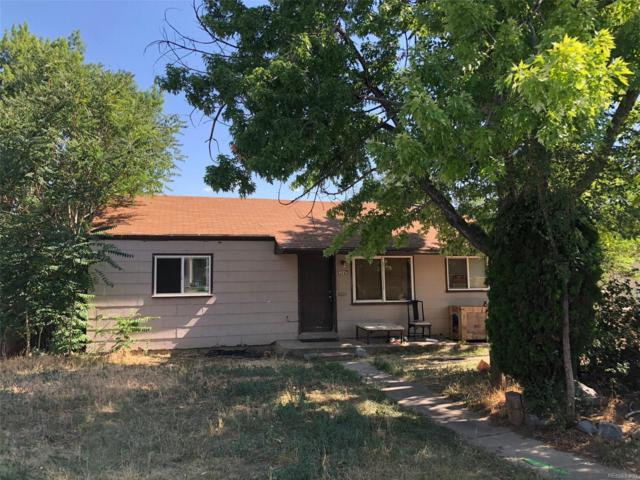 1542 W Hoye Place, Denver, CO 80223 (#8937534) :: The Pete Cook Home Group
