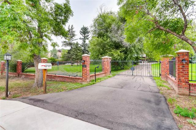 2121 E Orchard Road, Greenwood Village, CO 80121 (#8941826) :: The Galo Garrido Group