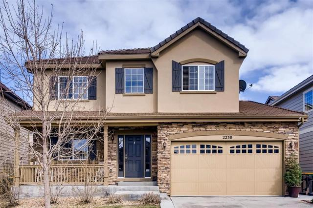 2230 Broadleaf Loop, Castle Rock, CO 80109 (#8942971) :: The Heyl Group at Keller Williams