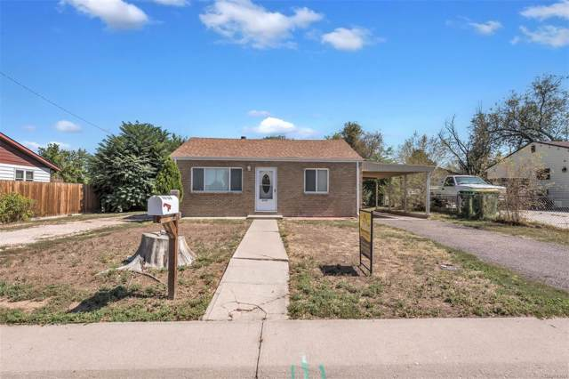 6140 Olive Street, Commerce City, CO 80022 (#8955798) :: The DeGrood Team