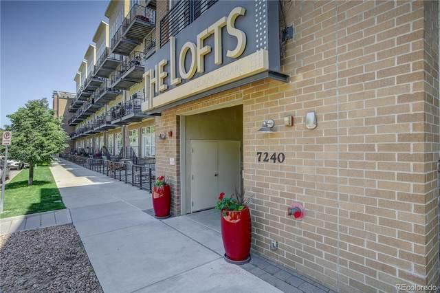 7240 W Custer Avenue #212, Lakewood, CO 80226 (#8956140) :: iHomes Colorado
