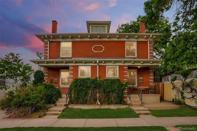 21 E 3rd Avenue E, Denver, CO 80203 (#8959088) :: West + Main Homes