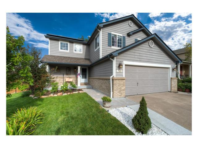 765 Whispering Oak Drive, Castle Rock, CO 80104 (MLS #8971295) :: 8z Real Estate