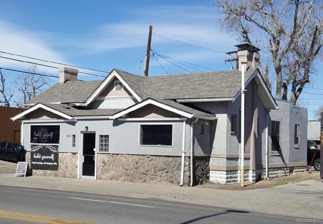 421 E Alameda Avenue, Denver, CO 80209 (#8982344) :: My Home Team