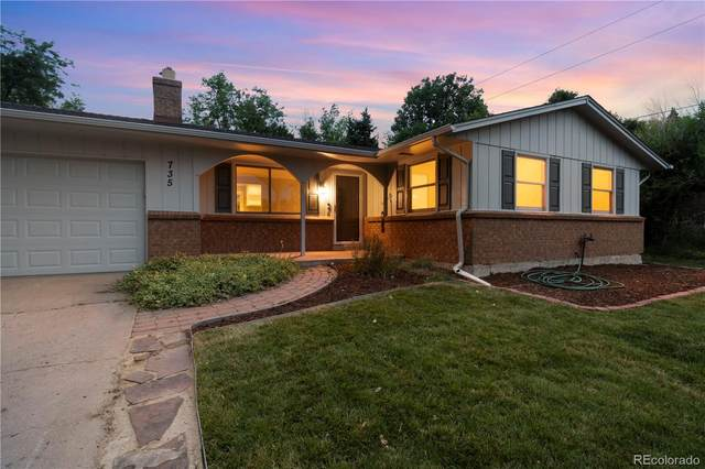 735 S Braun Street, Lakewood, CO 80228 (MLS #8982790) :: Keller Williams Realty