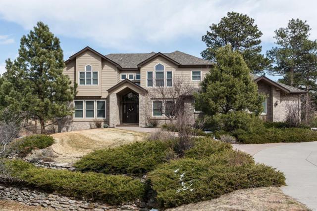 7751 Prairie Lake Trail, Parker, CO 80134 (#8989260) :: The Peak Properties Group