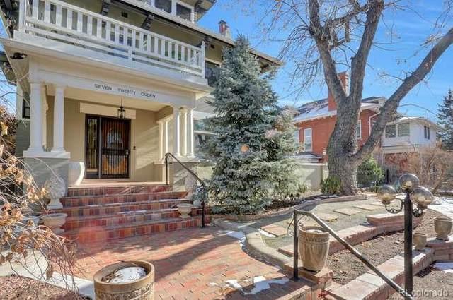 720 N Ogden Street, Denver, CO 80218 (#8990241) :: Stephanie Fryncko | Keller Williams Integrity