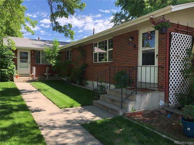 8607 W 62nd Place, Arvada, CO 80004 (#8990320) :: Finch & Gable Real Estate Co.