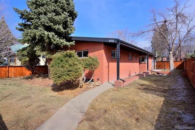 918 S University Boulevard, Denver, CO 80209 (#8993342) :: HomeSmart