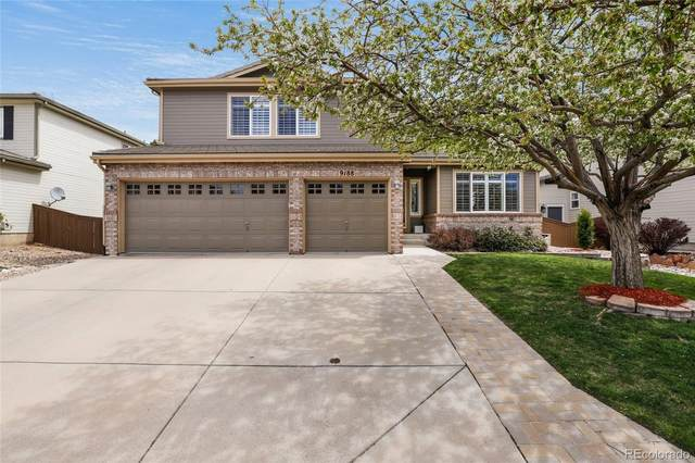 9188 Fox Fire Way, Highlands Ranch, CO 80129 (#8995865) :: My Home Team