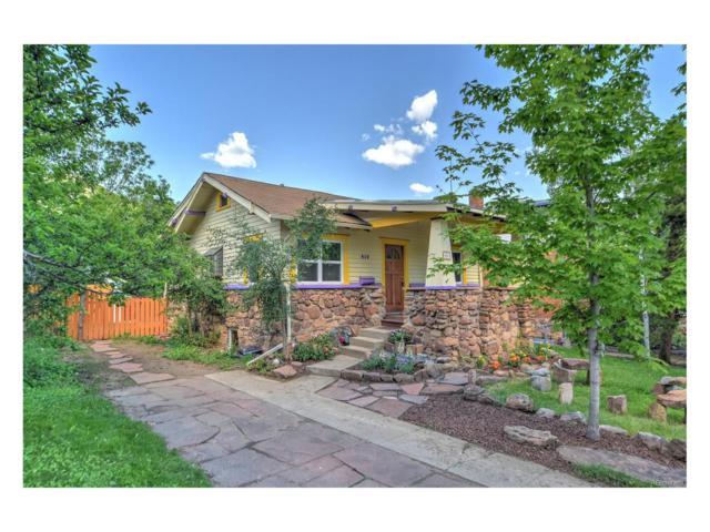 819 9th Street, Boulder, CO 80302 (#9003881) :: The Peak Properties Group
