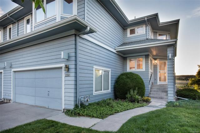 2395 Mount Royal Drive, Castle Rock, CO 80104 (#9004653) :: The Peak Properties Group