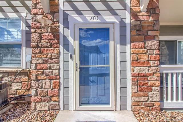 9306 Amison Circle #201, Parker, CO 80134 (#9006356) :: The Brokerage Group