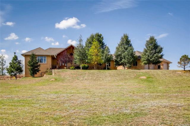 16850 Bar X Road, Colorado Springs, CO 80908 (#9010190) :: Ben Kinney Real Estate Team