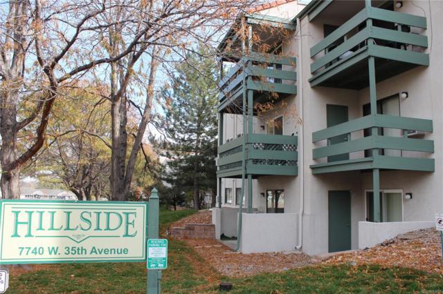 7740 W 35th Avenue #108, Wheat Ridge, CO 80033 (#9014561) :: Bring Home Denver