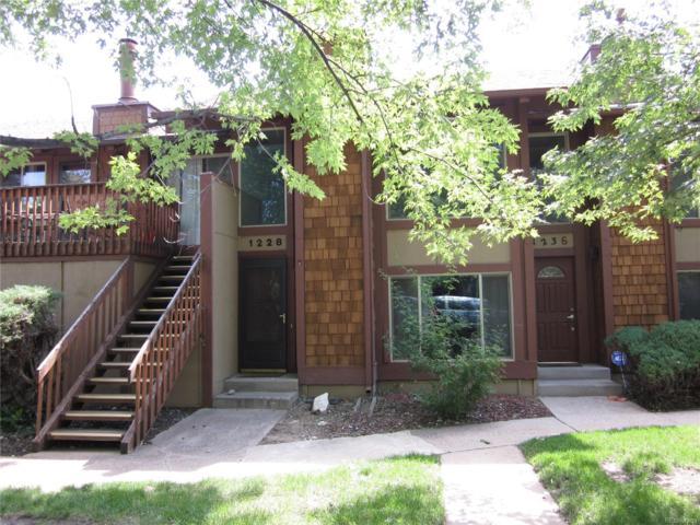 1228 S Dillon Way, Aurora, CO 80012 (#9016648) :: Wisdom Real Estate