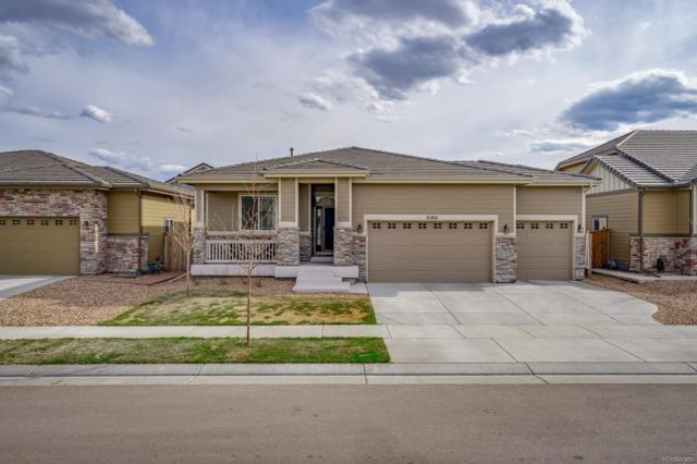 15464 E 115th Avenue, Commerce City, CO 80022 (#9017633) :: Compass Colorado Realty