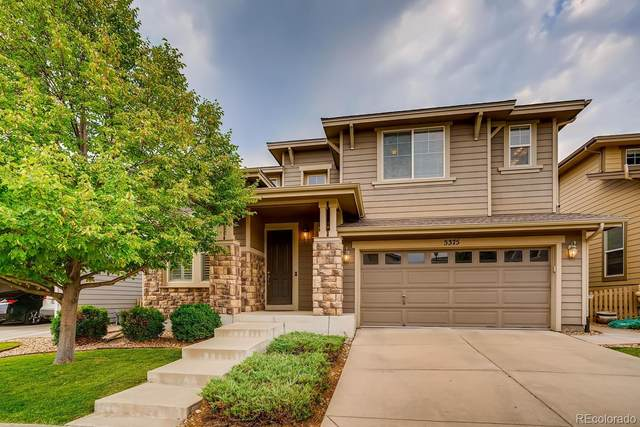 5375 Clovervale Circle, Highlands Ranch, CO 80130 (#9024517) :: The Brokerage Group