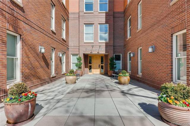 1630 Clarkson Street #320, Denver, CO 80218 (MLS #9028050) :: Stephanie Kolesar