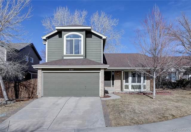3187 Foxhill Place, Highlands Ranch, CO 80129 (#9034453) :: The Scott Futa Home Team