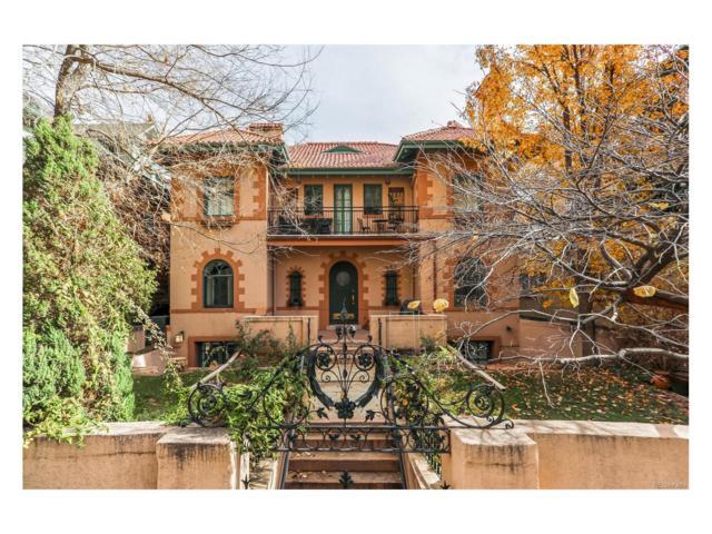 1030 N Logan Street 1W, Denver, CO 80203 (#9036761) :: The Peak Properties Group