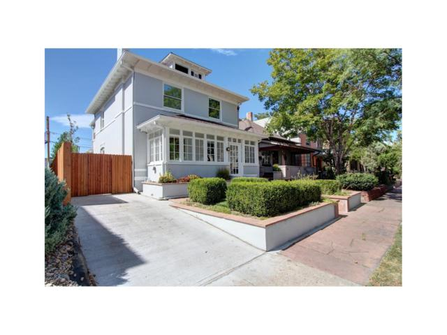 339 N Lincoln Street, Denver, CO 80203 (#9046250) :: Thrive Real Estate Group
