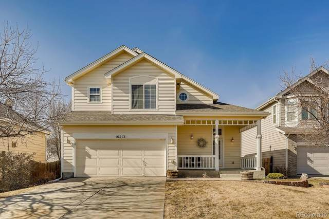 16213 White Hawk Drive, Parker, CO 80134 (#9048299) :: The Scott Futa Home Team