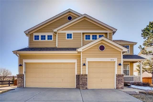 1873 Baguette Drive, Castle Rock, CO 80108 (#9052051) :: HomeSmart
